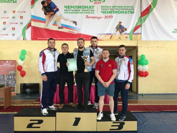 Чемпионат Республики Татарстан по борьбе на поясах