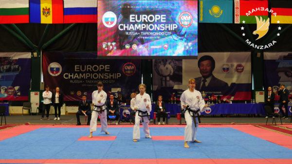 В Казани проходит чемпионат и первенство Европы по тхэквондо ГТФ